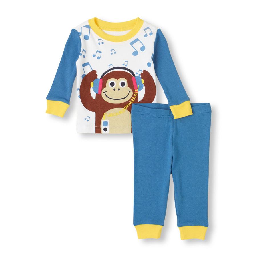 Пижама на мальчика 4 года Хлопок 100% The Children's Place (США)