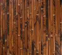 Бамбуковые обои,Черепаховые, темные, нелак. BW211 п.17 мм, высота рул.2,5 м