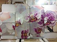 "Модульная картина ""Орхидеи"""