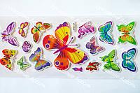 Эпоксидные наклейки бабочки