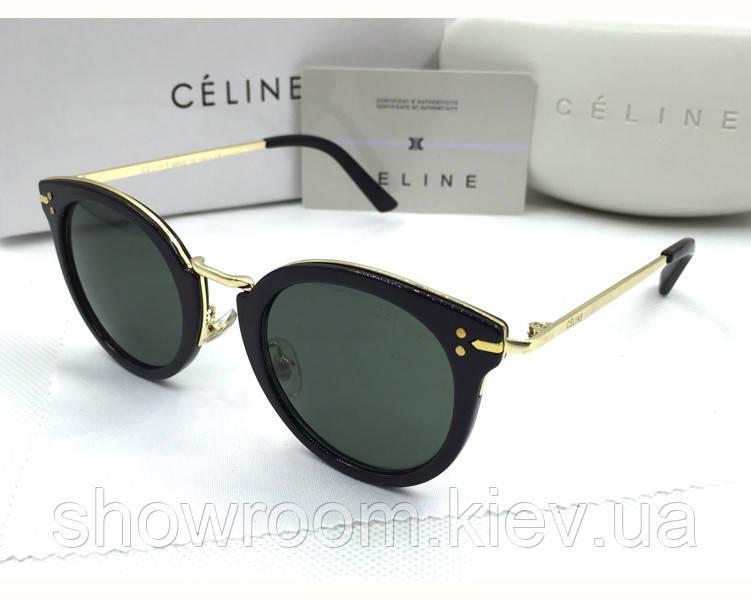 Солнцезащитные очки Celine (41373) black - Шоу Рум в Киеве