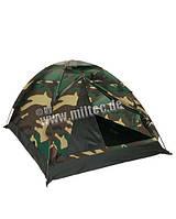 Палатка  super  на 2 человека камуфляж flecktarn Wudland Mil-Tec Германия