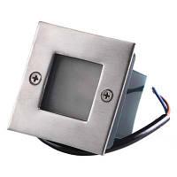 Светодиодный грунтовый светильник Brille 0,6W AL-11/9 холодный свет