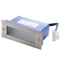 Светодиодный грунтовый светильник Brille 1,2W LED-301/12x0,1W белый свет