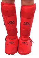 Europaw защита для ног-футы ( голень+стопа) Цвет:Красный