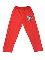 Спортивные трикотажные брюки для девочек. Размеры 9-10-11-12 лет