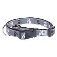 Trixie TX-12221 нашийник для собак Silver Reflect Collar 22-35 см