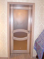 Двері соснові, виробник дерев'яних дверей  (модель 15)