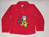 Пижама на девочку махровая Турция розовая 140 р.., фото 3
