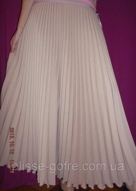 Купить плиссе макси юбка