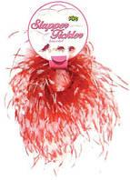 Браслет с перьями Slapper Tickler — Red/White