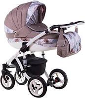 Детская коляска универсальная 2 в 1 Adamex Aspena Акварель 100L (Адамекс Аспена)