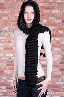 Шапка-шарф из норки, фото 1