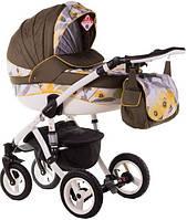 Детская коляска универсальная 2 в 1 Adamex Aspena Акварель 90G (Адамекс Аспена)