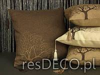 Наволочка декоративная 40х40, Tifani  дерево