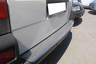 Накладка на задний бампер Volkswagen T4 (фольксваген т4). нерж.