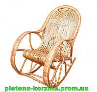 Кресло-качалка плетеное из лозы Арт.690