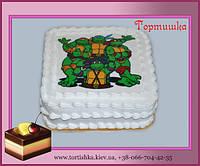 Торт Черепашки Ниндзя
