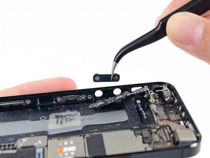 замена шлейфа громкости на iphone 4s