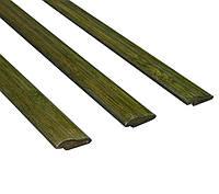 Молдинг д/отделки верх, декор 1850х30х8 мм зеленый