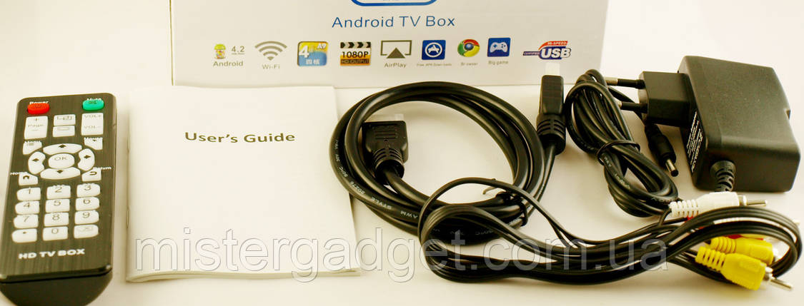 Приставка Smart TV Android Смарт ТВ Box V3 HDMI, фото 2