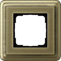 Рамка 1-пост. GIRA ClassiX бронза