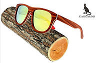 Очки в деревянной оправе Gran Paradiso Sport RedWood W007