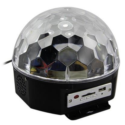 Дискошар без MP3 плеера Led Ball Light