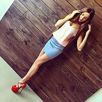 Женское красивое летнее платье в расцветках, фото 1