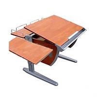 Детская парта трансформер ДЕМИ СУТ 12-02 (14-02) +Без стула. Гарантия 3 года.