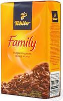 Кава мелена з подрібнених зерен Tchibo Family 250г