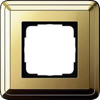 Рамка 1-пост. GIRA ClassiX латунь