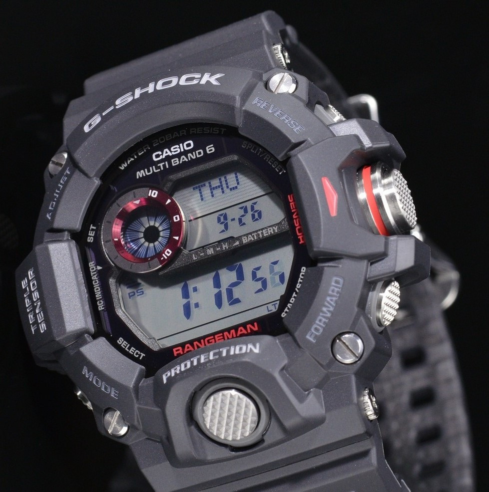 Часы Casio G-Shock GW-9400-1E Rangeman