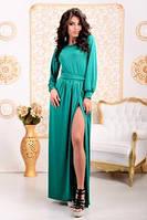 Платье Венера длиное с разрезом 36 ЛЯ