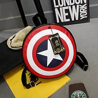 Рюкзак-щит,  Капитан Америка , малый ( код: IBR021sB ), фото 1