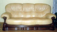 Перетяжка мягкой мебели натуральной кожей Симферополь