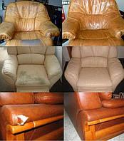 Реставрация диванов из натуральной кожи в Симферополе