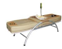 Массажная кровать Alcor нефритовая на металлической основе
