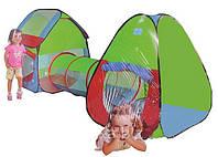 Детская игровая палатка тоннель A999-143. Размер 230 х 78 х 91 см.