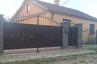 Кованные ворота 11730