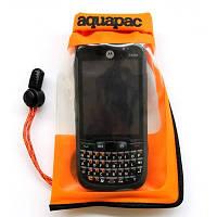 Влагозащитный чехол для смартфона Aquapac Stormproof Phone Case Small orange (035)