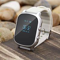 Детские часы T58 Smart GPS Watch серебристые, фото 1