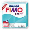 Полимерная глина пластика Фимо Софт Fimo Soft перечная мята 39