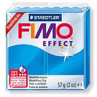 Брусок Fimo Effect полупрозрачный голубой 374 - 56гр., фото 1