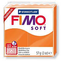 Полимерная глина пластика Фимо Fimo Soft мандарин 42 - 56гр