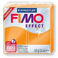 Брусок Fimo Effect полупрозрачный оранж 404 - 56гр.