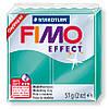 Брусок Fimo Effect полупрозрачный зеленый 504 - 56гр.