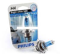Галогенная лампа Philips CrystalVision H4 12V (12342CVB1)