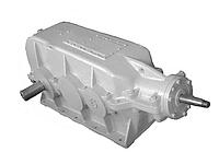 Редуктор коническо цилиндрический КЦ2-1000