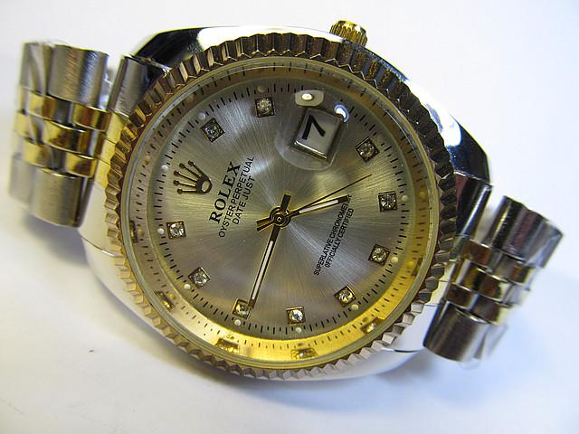 Женские часы ROLEX  календарь (копия)